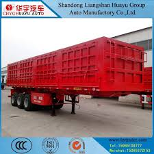100 Semi Tow Truck China Cimc Type StonesGraphiteRock Trailer With