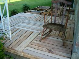 Ideas Wood Pallet Deck