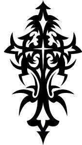 Tribal Cross Tattoo Designs