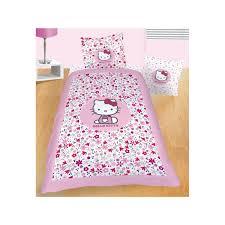 linge de lit hello flora parure de couette 1 personne