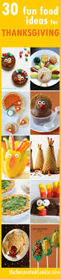 A Roundup Of 30 Fun Food Ideas For Thanksgiving Crafts