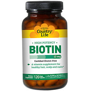 Country Life Biotin High Potency
