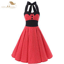 online get cheap red cotton dress aliexpress com alibaba group
