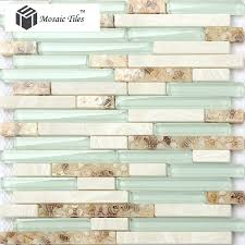 Shell Stone Tile Manufacturers by Tst Glass Conch Beach Style Mother Of Pearl Shell Resin Aqua White