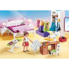 playmobil 70208 70211 dollhouse 2er set schlafzimmer