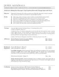flight attendant resume example Resume tips Pinterest