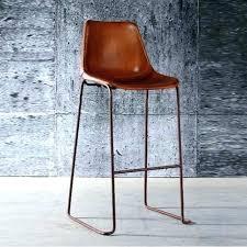 chaise de bureau antique fauteuil bureau cuir marron chaise vintage chaise bar vintage bar en