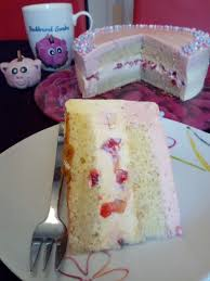 erdbeer vanille torte mit qimiq qimiq