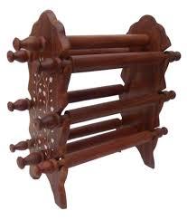 Handicraft Wood Made Bangle Stand