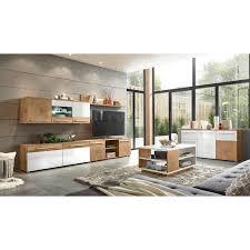hochglanz eiche wohnwände kaufen möbel suchmaschine