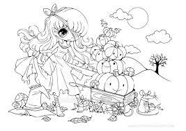 Halloween Pumpkin Princess Lineart By YamPuff
