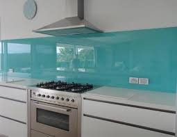 This Glass Splashback Added Such A Beautiful Calming Effect To Beach Side Home Kingscliff