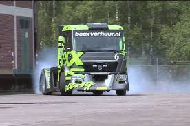 100 Big Trucks Racing Michiel Becx Rig Hoons Like A MAN Truck Trend