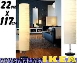 Floor Lamps Ikea Egypt by Ikea Holmo Floor Lamp White Round Paper Shade 46 Inch Standing