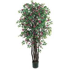 8ft Christmas Tree Ebay by New Large 6 U0027 Silk Artificial Fake Bougainvillea Tree Realistic W