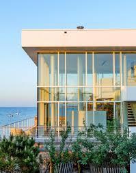 100 Fire Island Fair Harbor Richard Meiers High End Design Focused On A White Beach