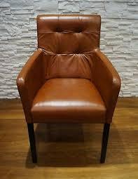 echtleder esszimmerstühle mit armlehnen stuhl sessel