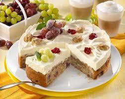 trauben nuss torte