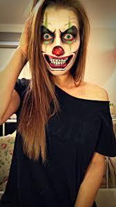 Halloween Half Mask Ideas by Best 25 Halloween Clown Ideas On Pinterest Clown Halloween