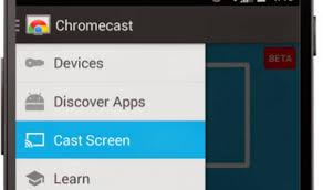 Chromecast now mirrors your smartphone s screen SlashGear