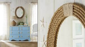 Nautical Rope Mirror Frame DIY Projects