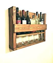 Wine Glass Storage Floating Shelves With Over Buffet In Dining Room Containers Plastic Container