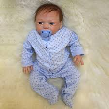22inch Reborn Baby Girl Doll Silicone Handmade Girl Lifelike Play