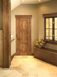 Rustic Craftsman Traditional Interior Doors And Trim Idea So Pretty