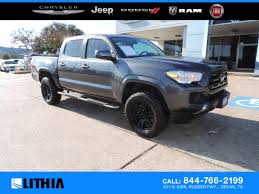100 Toyota Tacoma Used Trucks 2019 SR Truck Double Cab Magnetic Gray