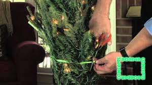 Donner And Blitzen Christmas Tree Instructions by How To Set Up Artificial Christmas Tree Youtube