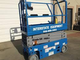 100 Interstate Truck Equipment Lift Genie GS 1930 Scissors Rental