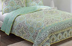 bedding set grey and green bedding elegant grey and lime green