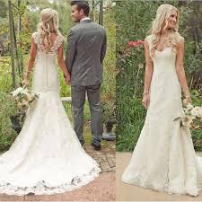 Rustic Lace Wedding Dress Ideas