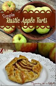 Individual Rustic Apple Tart