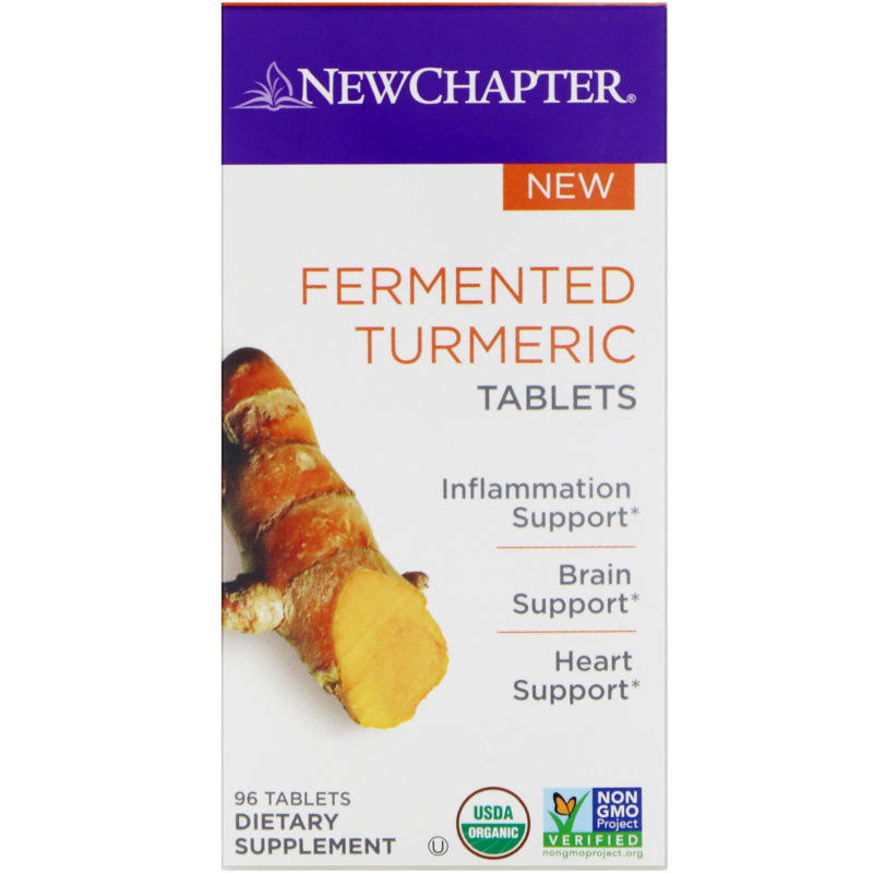 New Chapter Fermented Turmeric Dietary Supplement - 96ct