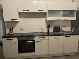 küche küchenzeile mit küchenblock