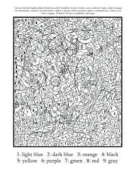 Coloring Pages Printable Color By Number For Adults Free Numbers Worksheets Middle School Printables Sheets Preschool