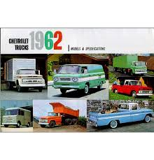 100 Classic Truck Parts 1962 Chevy Sales Brochure EBay