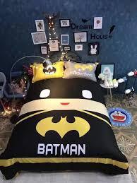 Superhero Bedding Twin by Batman Comforter Set Queen Size Captain America Bed Set Batman