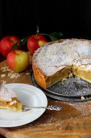 omas gedeckter apfelkuchen mit mürbeteig es