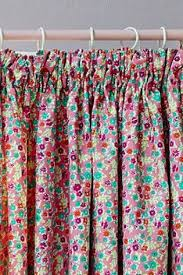 buy ditsy floral pencil pleat blackout curtains from the next uk