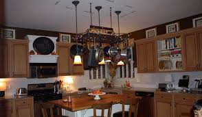 kitchen kitchen island with pot rack diy rustic islands ideas