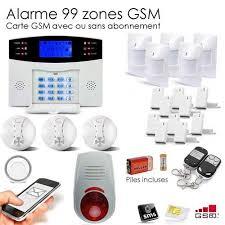 securitegooddeal alarme maison sans fil gsm 99 zones xxxl box