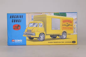 100 Box Truck Trader Corgi Classics 30306 Ford Thames Van Lucozade Archive