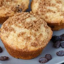 Cinnamon Raisin Muffins Recipe