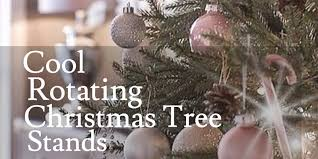 Heavy Duty Revolving Christmas Tree Stands For Real Or Artificial Trees