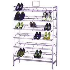 Free Standing Metal Shoe Rack Shoe Display Stand Display Rack