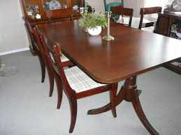Paramount Furniture Mahogany Dining Table And Side Board