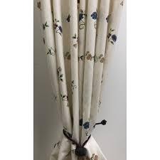 landhaus stoffe landhausstil kissen gardinen trendgardine de