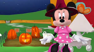 Minnie Mouse Painted Pumpkin by Minnie Mouse Halloween At The Mickey Mouse Clubhouse App For